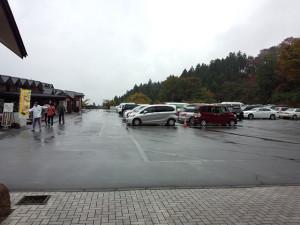 妙義山ドライブ_道の駅みょうぎの駐車場