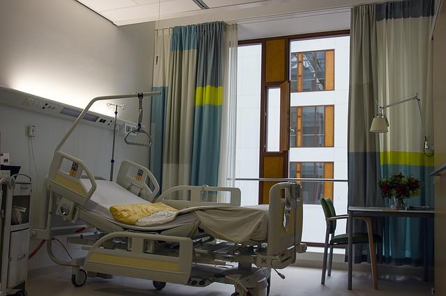絨毛膜下血種による出血で入院