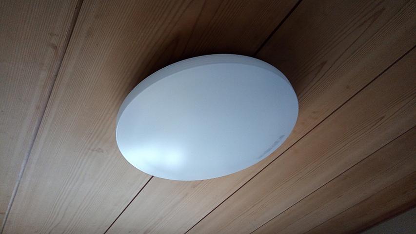 LEDシーリングライトに交換できてよかった!