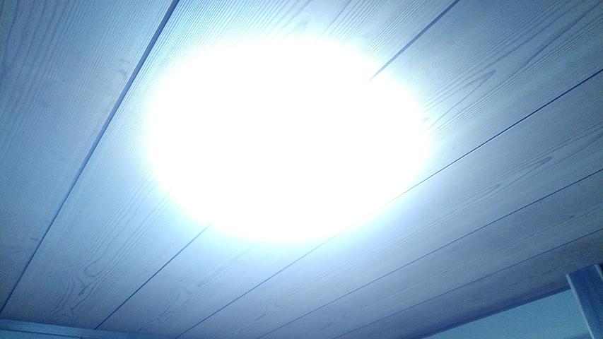 LEDライト取付完了