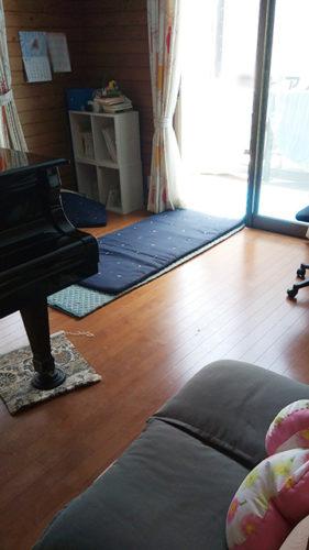 グランドピアノの運搬設置作業その1